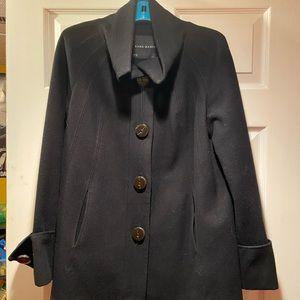 Zara swing coat 60% wool